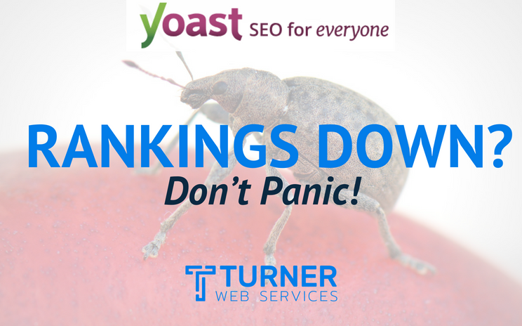 Rankings Affected by the Yoast Bug? Don't Panic!